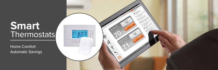 Home Automation Thermostat Controls